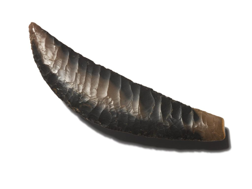 Flint tools were as sharp as modern knives and produced no ecological damage. How would having used that technology shaped Occam's famous theorem? From the Science Museum Group