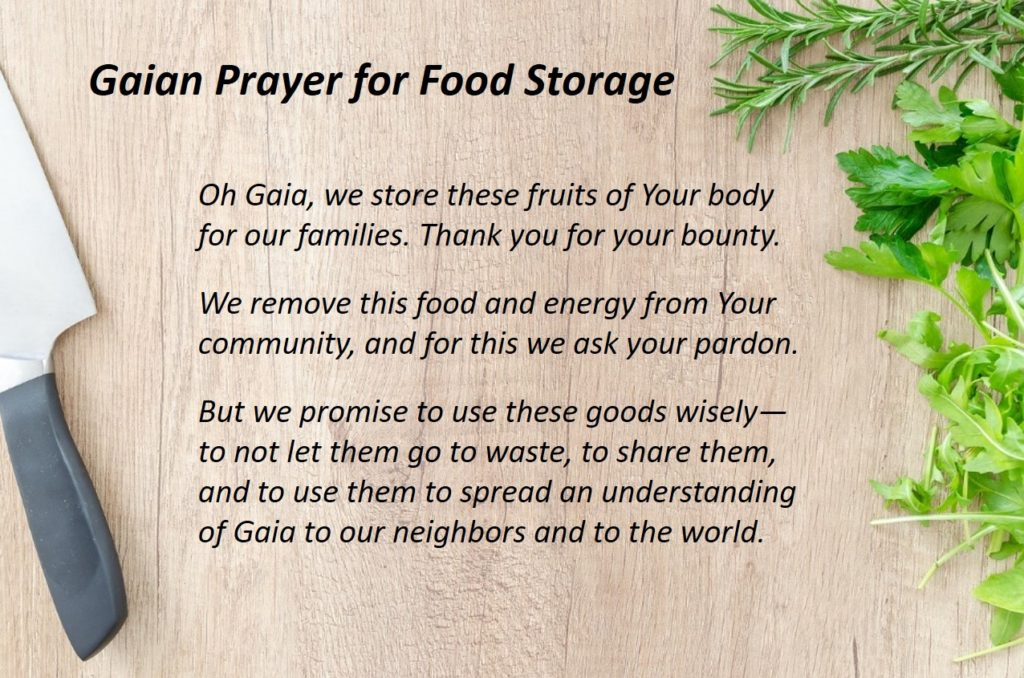 food prayer
