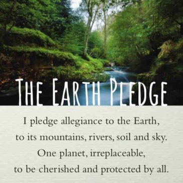 Reciting the Earth Pledge—on Earth Day and Every School Day
